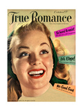 True Romance Vintage Magazine - October 1950 - Let's Elope! Art by Jon Abbot