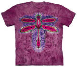 Dragonfly Tie Dye T-shirts