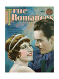 True Romances - April 1925 - Antonio Moreno - Helene Chadwick - the Border Legion - Paramount Poster by Jr, Leo Sielke