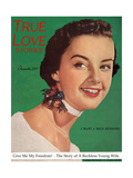 True Love Stories Magazine - December 1950 Prints by Charles E. Kulhawy