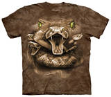 Snake Moon Eyes T-shirts