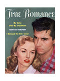 True Romance Vintage Magazine - September 1953 - My Sister Stole My Sweetheart Giclee Print by Theda and Emerson Hall