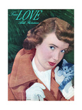 True Love & Romance Magazine - November 1948 Giclee Print by Charles E. Kulhawy