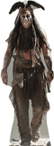 The Lone Ranger Disney Movie - Tonto (Johnny Depp) Lifesize Standup Stand Up