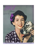 True Love Stories Magazine - September 1949 - Silvermine Wagabond Owned by Silvermine Kennels Pósters por Milton H. Greene