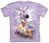 Double Rainbow Unicorn T-Shirt