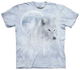 White Wolf Moon T-shirts
