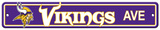 NFL Minnesota Vikings Street Sign Wall Sign