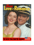 True Love & Romance Magazine - July 1943 Giclee Print