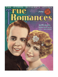 True Romances - July 1925 - Bobby Agnew - Lucile Ricksen Giclee Print by Jr, Leo Sielke