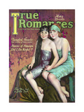 True Romances - May 1924 - Duncan Sisters Giclee Print by Leo Sielke