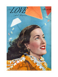 True Love & Romance Magazine - March 1948 Print by Charles E. Kulhawy
