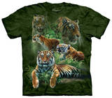 Jungle Tigers T-shirts