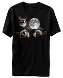 Grumpy Cat - Moon T-shirts