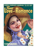 True Love & Romance Magazine - May 1939 Giclee Print by George Larkin