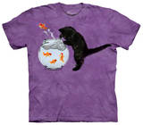 Fishin' Kitten T-shirts