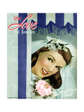 True Love & Romance Magazine - June 1947 Giclee Print