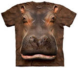 Hippo Head T-shirts