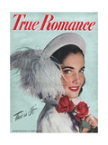 True Romance Magazine - July 1947 - Cover Girl Monya Horujko Posters by Jay Hoop