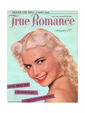 True Romance Vintage Magazine - November 1950 - Crazy About Him Giclee Print by Peter James Samerjan