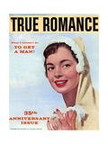 True Romance Vintage Magazine - August 1958 - 35th Anniversary Issue Giclee Print by Leo Aarons