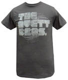 The Avett Brothers - Grey Distressed Logo (slim fit) Koszulki