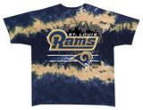 Rams Horizontal Stencil T-shirts