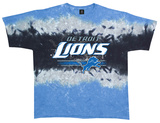 Lions Horizontal Stencil T-shirts