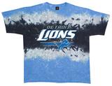 NFL: Lions Horizontal Stencil T-shirts