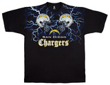 Chargers Face Off T-skjorte