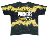 Packers Horizontal Stencil T-shirts