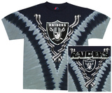 Raiders Logo V-Dye T-skjorter