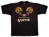 49ers Face Off T-shirts