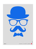 Hat, Glasses, and Bow Tie Poster III Prints by  NaxArt