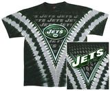Jets Logo V-Dye T-skjorte