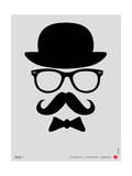 Hat, Glasses, and Bow Tie Poster I Prints by  NaxArt