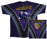 Ravens Logo V-Dye T-Shirt