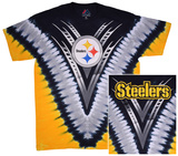 NFL: Steelers Logo V-Dye T-shirts