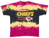NFL: Chiefs Horizontal Stencil T-Shirt