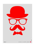 Hat, Glasses, and Bow Tie Poster II Print by  NaxArt
