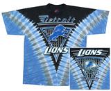 NFL: Lions Logo V-Dye T-shirts
