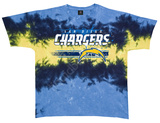 Chargers Horizontal Stencil T-skjorte