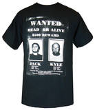 Tenacious D - Wanted T-shirts