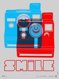 Smile Polaroid Poster Posters par  NaxArt