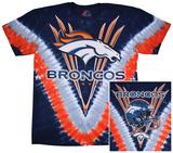 Broncos Logo V-Dye T-skjorte