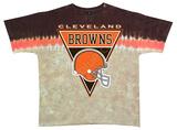 NFL: Browns Logo Banner T-Shirt