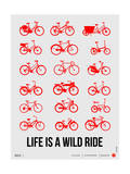 Life is a Wild Ride Poster II Posters by  NaxArt