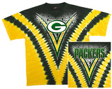NFL: Packers Logo V-Dye T-shirts