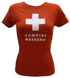 Juniors: Vampire Weekend - Red Ski Patrol T-Shirt