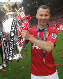 Ryan Giggs Manchester United Champions Glossy Photograph Photo